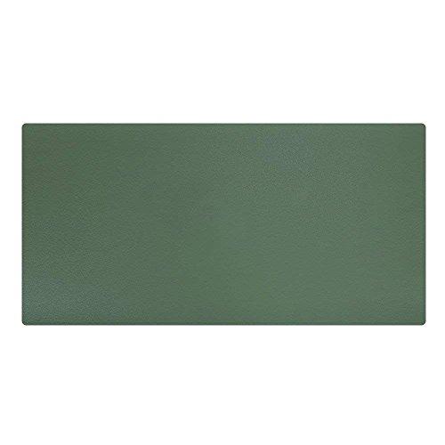 LiLan Alfombrilla de Escritorio Cuero Grande, 600x300mm, Verde