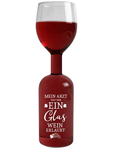 Weinglas Ein Glas erlaubt klar 29cm