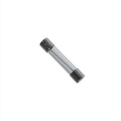 10x Schmelzsicherung, träge (T), aus Glas, 12,5A/250VAC, 6,3x32mm