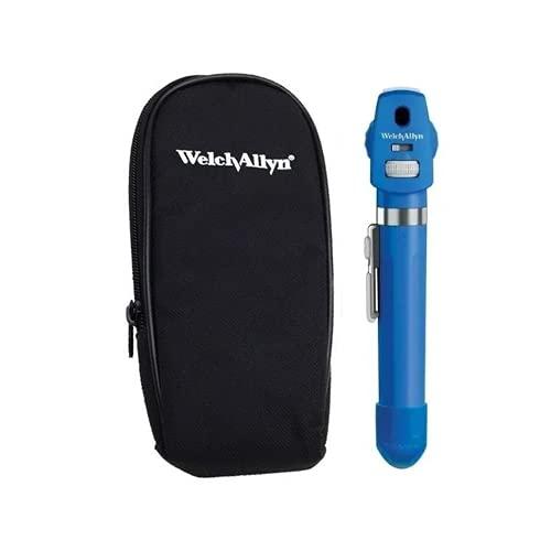 Oftalmoscópio De Led Pocket Plus Welch Allyn Azul + Estojo