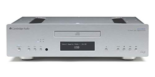 Cambridge Audio 851C CD-speler zilver.