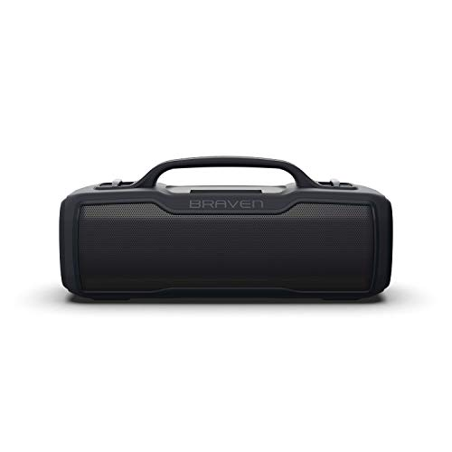 Braven BRV-XL - Waterproof Speaker with 16 Hours of Playtime - Rugged - Black