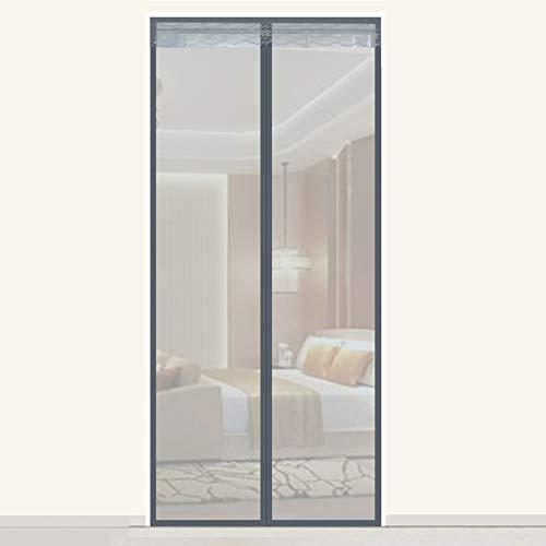 LYCIL Adjustable Screen Door,DIY Mosquito Net,Full Frame Mesh Curtain,Heavy Duty Magnetic Adsorption Door Screen,pet Friendly Door Net B 240x220cm(94x87inch)