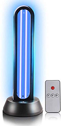Lámpara germicida portátil, Ultravioleta germicida ácaros antivirus lámpara desinfectante Luces Interiores del Coche para Evitar Que el Virus de la pandemia de Control Remoto Tres Tipos de Niveles