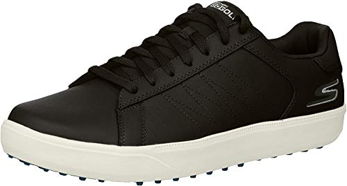 Skechers Men's Drive 4 Golf Shoe, Black/Blue, 11 M US