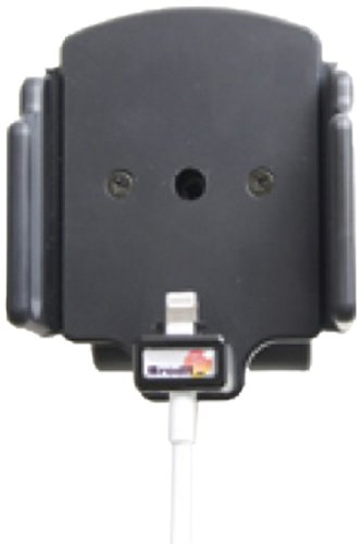 Brodit 514439 Kfz-Halterung mit Kabelanchluss für Apple iPhone 5/5C/5S (62-77/6-10mm) schwarz