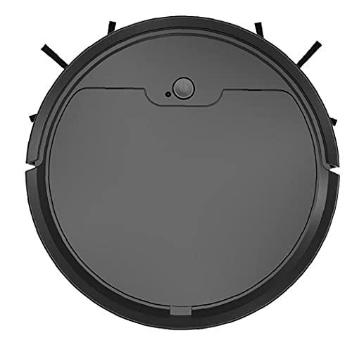 Sanfiyya Aspirador múltiples Funciones sin Hilos Inteligente del Robot Barrido ABS Negro 1600Pa aplicación de Control Remoto