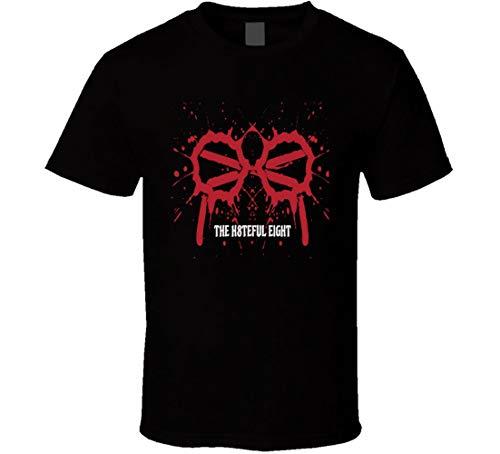 N/N The Hateful Eight Movie t-Shirt 2015 Tarantino Western Movie Camicie Nero M