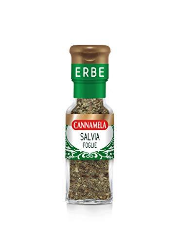 Cannamela, Linea Maxi Oro, Salvia in Foglie, Ideale per Marinare Carni, Insaporire Paste Ripiene al Burro, Verdure, Zuppe e Pesce