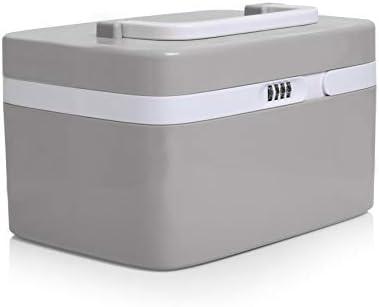 Medicine Lock Box for Safe Medication Storage Childproof Prescription Bottle Organizer Lockable product image