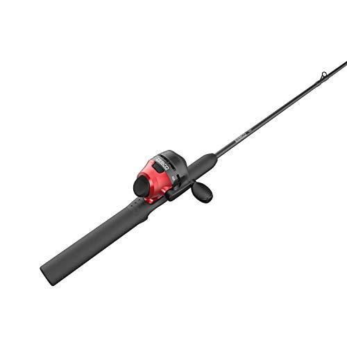 Zebco 101 Spincast Reel and 2-Piece Fishing Rod Combo, 5-Foot Fiberglass Rod with EVA Handle