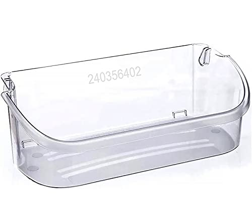 240356402 Clear Refrigerator Door Bin Side Shelf Compatible with Electrolux Frigidaire Electrolux Refrigerator Top shelf,Replaces AP2549958 PS430122 240430312 240356416 240356407 240356408