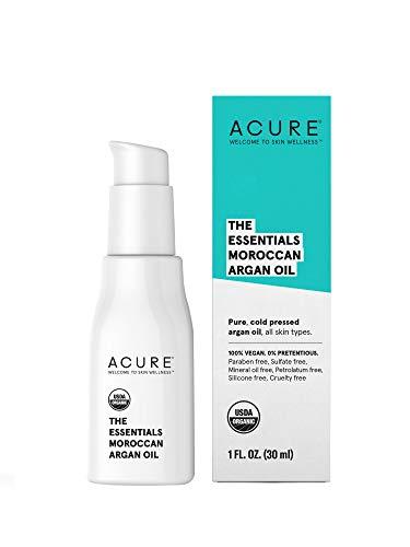 Acure Organics, The Essentials, Moroccan Argan Oil, 1 fl oz (30 ml)