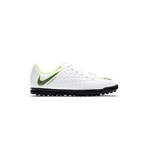 Nike Hypervenom Phantom X 3 Club TF JR AJ3790, Botas de fútbol Unisex Adulto, Mehrfarbig (Indigo 001), 35 EU