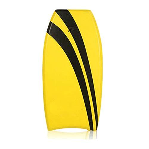 Yangxuelian Tabla de Bodyboard para Niños Tablero de Surf for niños XPE de 41 Pulgadas, Tabla de Surf Pulida con Correa de Correa para la Playa Surf Natación Verano Agua Diversió
