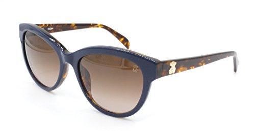 TOUS STO955S-540T55 Gafas, Azul/Marrón, 54/18/140 para Mujer