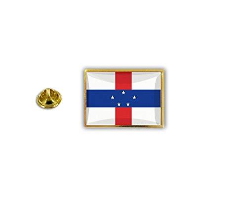 Akachafactory pinnen pin's Vlag Nationale Badge Metalen Lapel hoed Button Vest Nederland Antillen