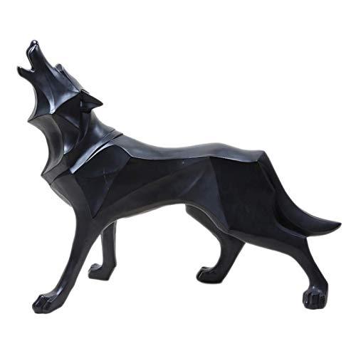 escultura lobo de la marca UMXOSM