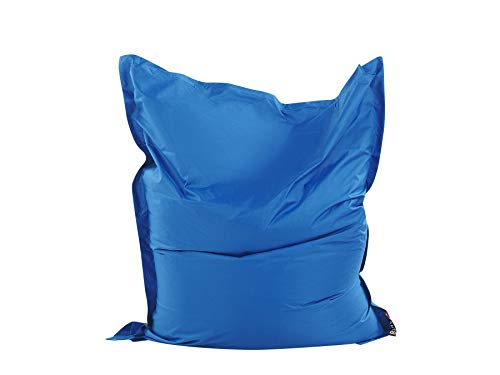 Extra Large Giant Beanbag Blue - Indoor & Outdoor Bean Bag - MASSIVE 180x140cm - great for Garden