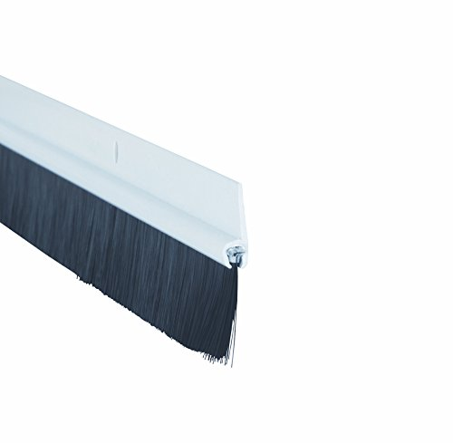 STORMGUARD 020M0050838W M5 BDS Bottom of The Door Brush Seal, White, 838 mm
