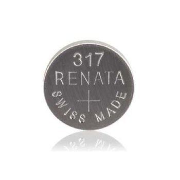RADIOSHACK 317 1.55V/10MAH Silver-Oxide Battery