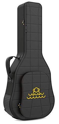 Monkey Loop - Rocking Acoustic - Funda para Guitarra Acústica - Dimensiones 44 x 111 x 19 cm - Color Negro - Acolchada - Alta Calidad - Protección Superior - Asa Reforzada - Resistente al Agua