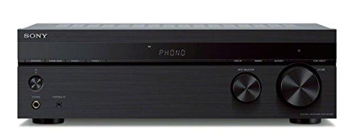 Sony STR-DH190 Verstärker (2-Kanal, Verbindung mit Smartphone und Bluetooth, Phono Input für Plattenspieler) schwarz