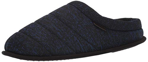 Price comparison product image Dearfoams Mens Quilted Clog Slipper, navy blazer, L Regular US