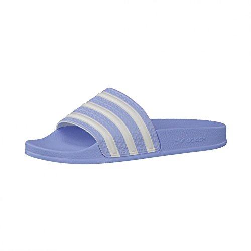 adidas Adilette W Hellblau Frauen, Größe:UK 5 (38)