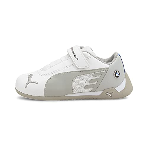 PUMA BMW M Motorsport R-Cat V Baby Sneaker Puma White-Puma White UK 8.5_Infant_FR 26