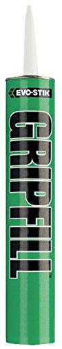 Greifkleber - Gripfill 350ml, Kleberfarbe weiß, Klebetyp Grab, Dosiermethode Kartusche, Produktpalette Evo-Stik - GripFill, Volumen 350ml, Klebeanwendungen Lückenfüllung, Kleber Che