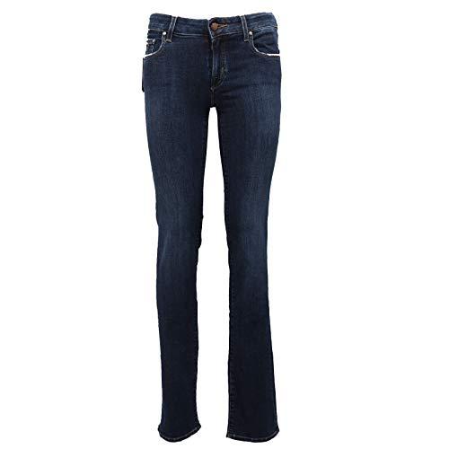 Jacob Cohen 3680Z (No Foulard) Pantalone Donna Jocelyn Blue Jeans Woman [25]