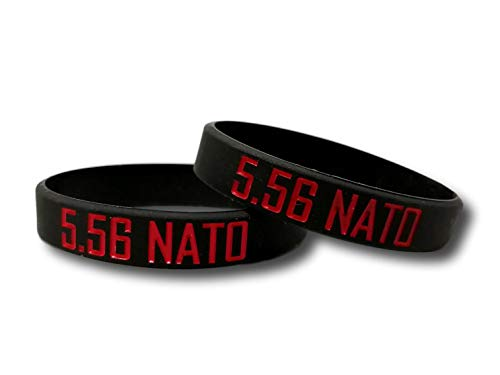 Magband 5.56 NATO マグバンド マガジンバンド サバゲー 装備 UAB ストリート 【N.P.Factory】 (Red)
