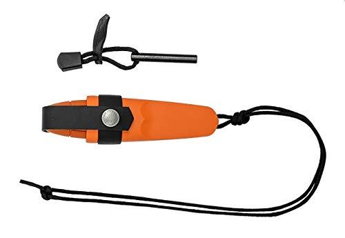 MORAKNIV Eldris Orange KIT • CUCHILLO FIJO • Longitud total: 5.63 pulgadas • FTM-uk.