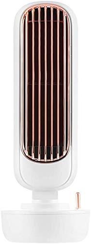 miwaimao Pequeña unidad de aire acondicionado portátil humidificador de oficina portátil humidificador humidificador ventilador ventilador portátil blanco