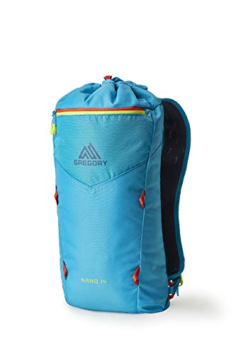 Gregory Mountain Products Nano 14 Everyday Outdoor Backpack, Calypso Teal, one Size