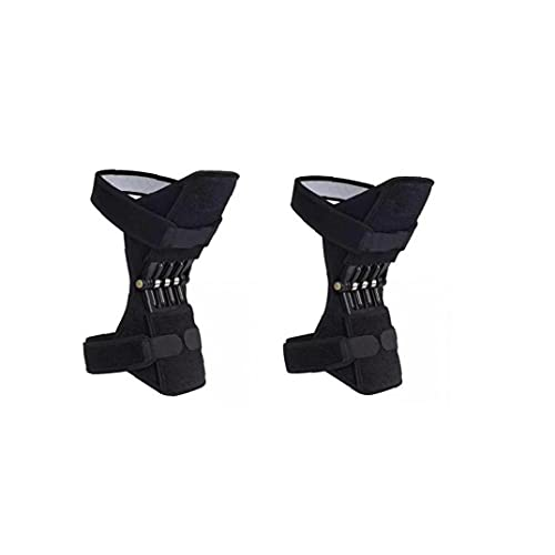 Rodilla Booster Joint Support Pad para Acl MCL Tendinitis Ejecución Se Pone En Cuclillas Se Pone En Cuclillas Subir Escaleras Gimnasio Deportes (par)