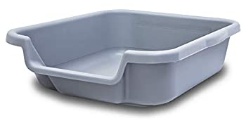 PuppyGoHere Indoor Puppy Litter Box Misty Gray Color Size Small  20  x 15  x 5  Opening is on The 15  Side Review Size Diagram Prior to Ordering.