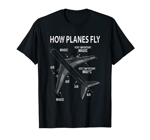Funny Aviation Airplane Gift Pilot T-Shirt
