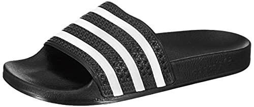 """Adidas Originals """"Adilette 280647"""" Unisex-Sandale für Erwachsene, Schwarz - Noir (Black/White/Black 0) - Größe: 43 1/3 EU"""