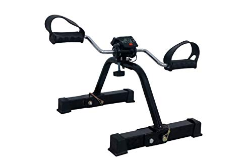 IBS Pedal Exercise Cycle/Bike Exerciser Cum Cardio Cycle with Digital Display Fast Calories Burn Weight Loss Kit for Men & Women (Black/White)