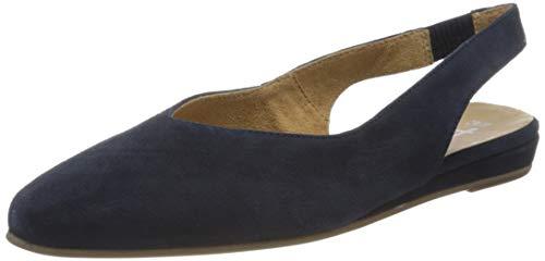 Tamaris Damen 1-1-29406-24 Slingback Ballerinas, Blau (Navy 805), 39 EU