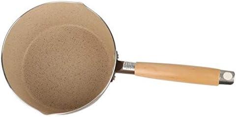 Casserole à Lait Petit lait Pot antiadhésif de cuisson Pot for gaz Cookerand Cuisinière à induction Pot de soupe (Color : As picture) As Picture