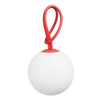 Fatboy® Bolleke Red | Hängelampe für Innen & Außen | ohne Kabel | aufladbar mit USB