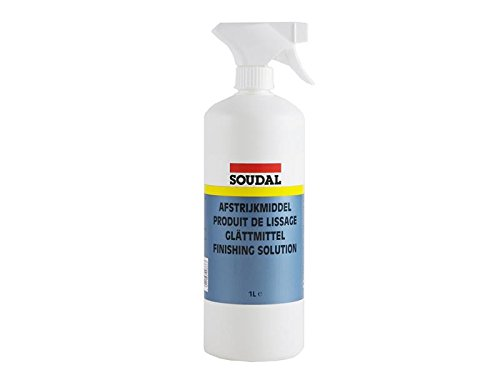 Soudal Glättmittel 1L Sprayflasche für präzise Dosierung