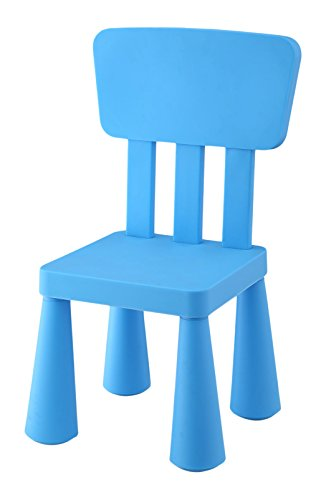 Mueblear 90051 - Sedia per bambini, in plastica, 31 x 30 x 67 cm