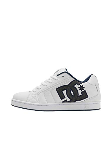 DC Shoes Net SE - Leather Shoes for Men - Schuhe - Männer - EU 53.5 - Weiss