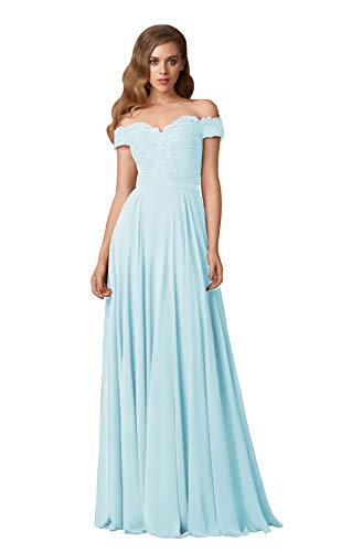 Wedding Dress a Line Off the Shoulder Rhinestones