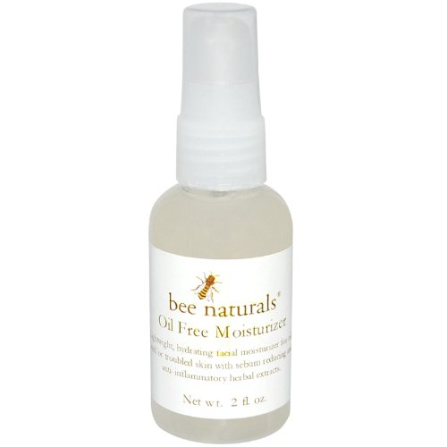 Bee Naturals Best Oil Free Moisturizer - Facial Cleanser for...
