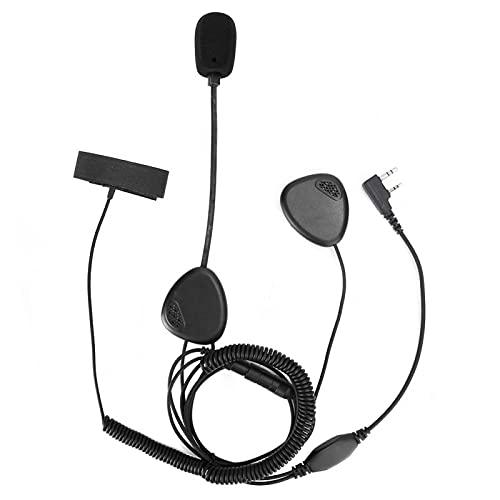 Auriculares con micrófono Durable Cómodo de usar Intercomunicador Auriculares Ligero Fácil de llevar Cómodo de usar Motociclistas para casco